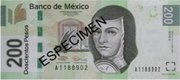 200 Peso Banknote