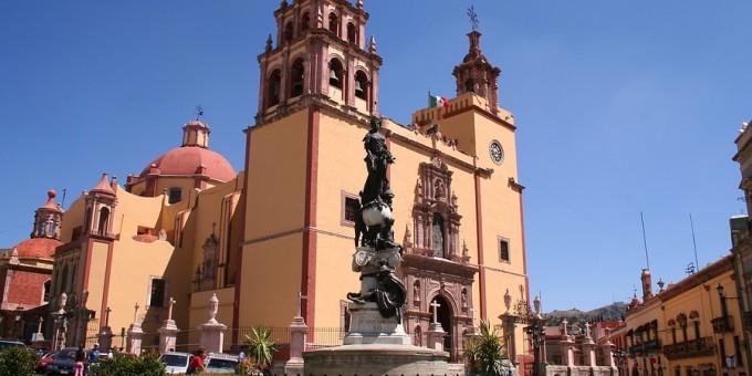Guanajuato Cathedral Daytime