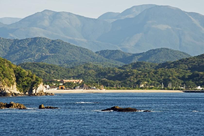 Huatulco Bay, Oaxaca, Mexico