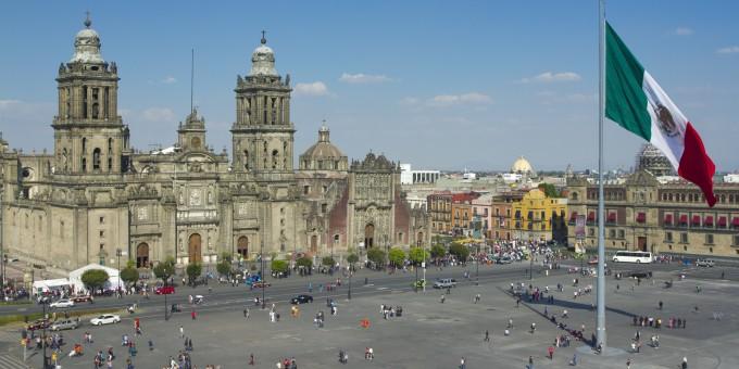 Mexico-City-Zocalo-Daytime