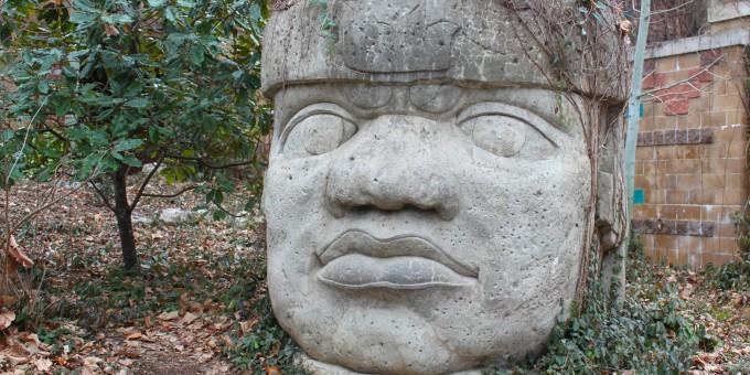 Olmec Stone Head, Villahermosa, Mexico