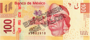 100 Peso Banknote