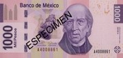 1000 Peso Banknote