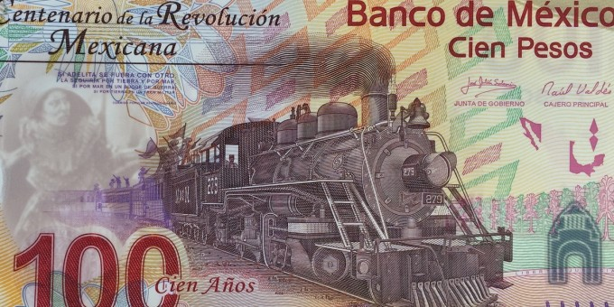 $100 Mexican Pesos - Centenary Limited Edition Banknote