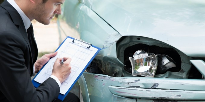 Assessing a car accident