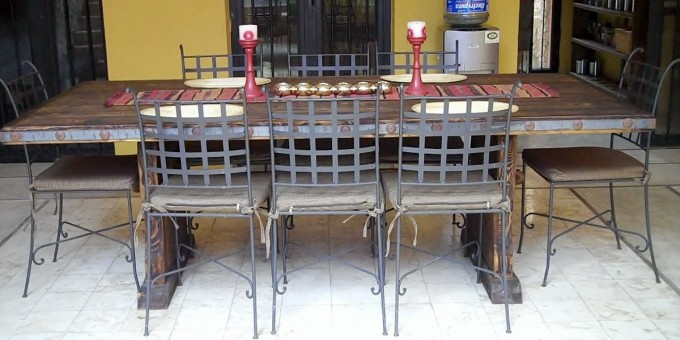 Mexican Artisan Dining Table