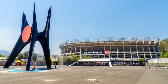 Aztec Stadium in Mexico City