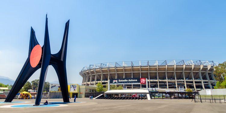 Aztec Stadium in Mexico City