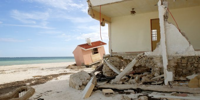 Beach House Damaged