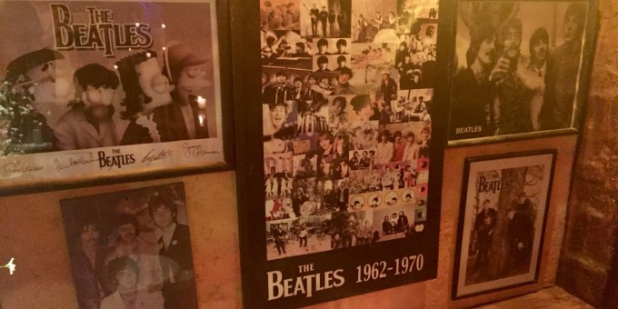 Beatles Memorabilia Mexico Nightclub