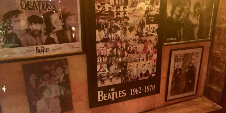 Beatles Memorabilia Mexico Nightclub