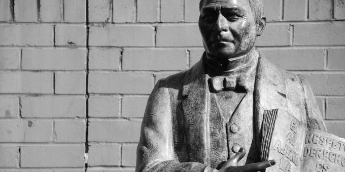 Statue of Benito Juarez