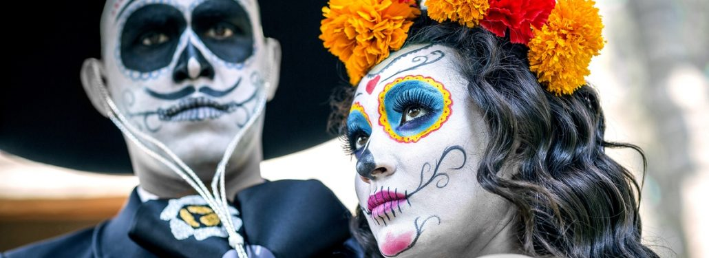 Catrinas in Costume - Day of the Dead