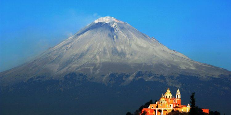Cholula and Popocatepetl