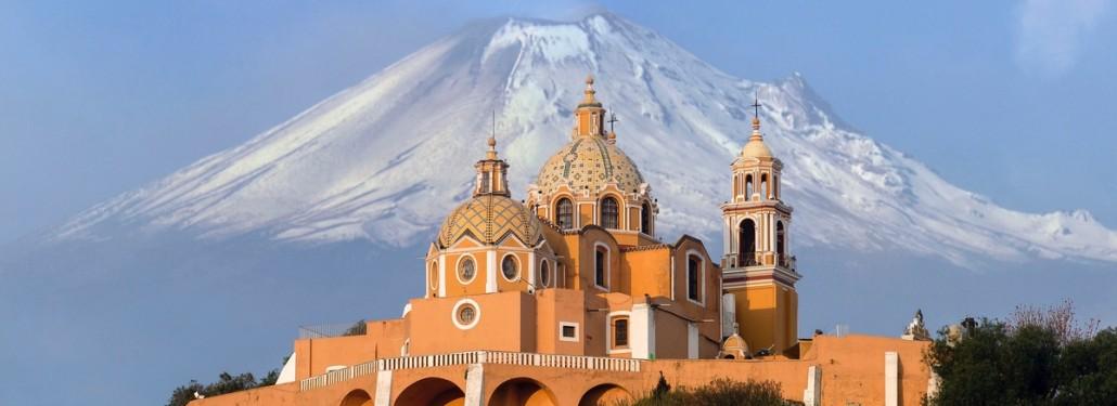 Cholula and Volcanoes
