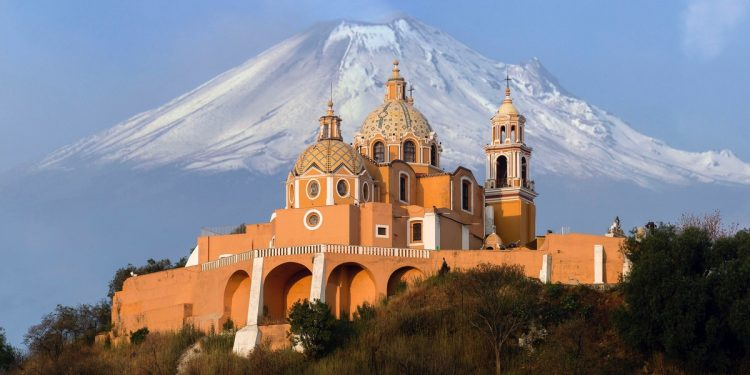 Cholula and Volcanoes
