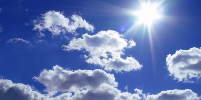 Climate: Sunshine in sky