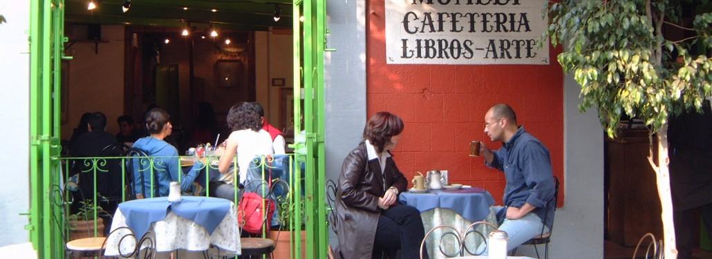 Coffee Shop in Coyoacan, Mexico City