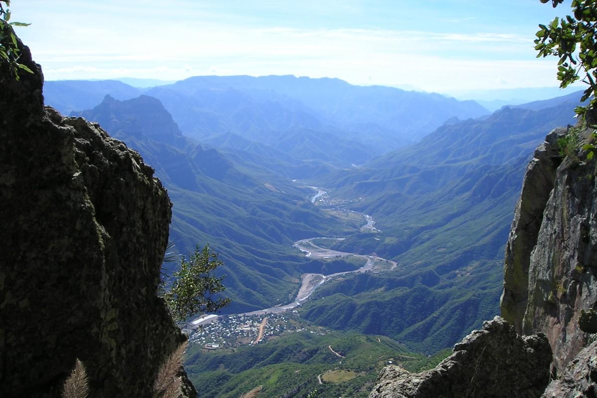 Copper Canyon Urique View