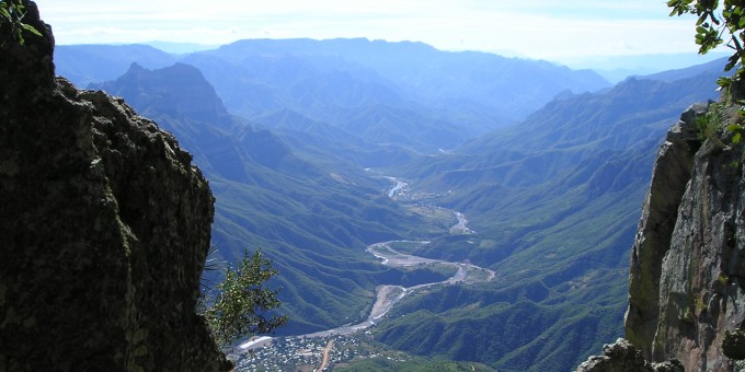 Copper Canyon Urique View