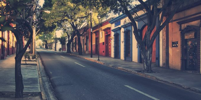 Coyoacan in Mexico City