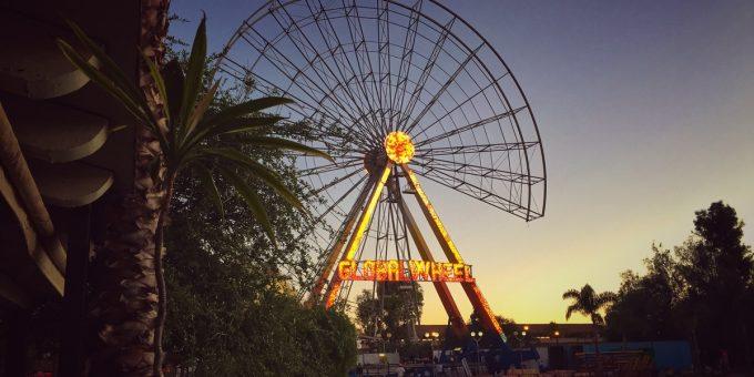 Wheel at San Marcos Fair, Aguascalientes