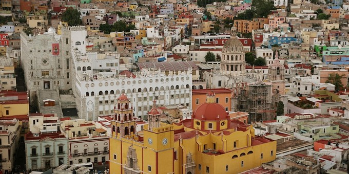 Guanajuato, Historic Center, Mexico