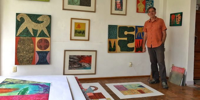 Jim Johnston Artist Mexico City