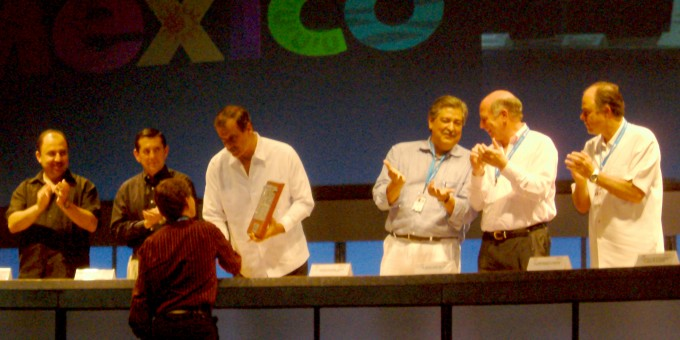 Mexperience Receives Lente de Plata Award from Mexico's President, Vicente Fox