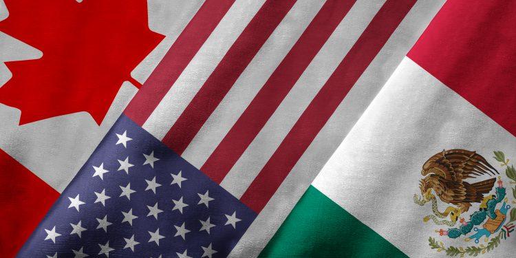 Mexico, USA, Canada