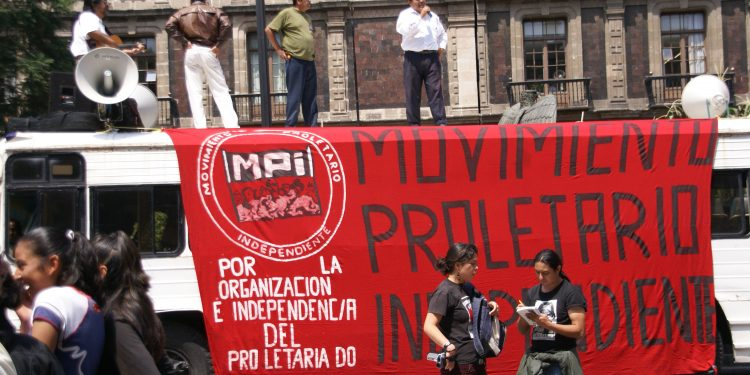 Manifestation in Mexico City