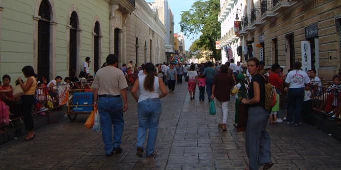 Downtown Merida, Yucatan, Mexico