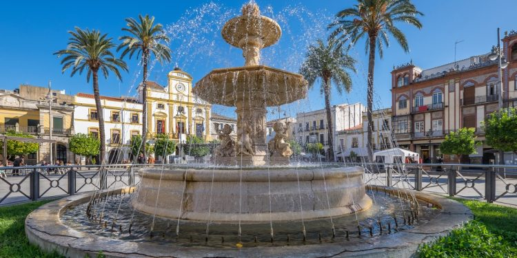 Fountain in Merida