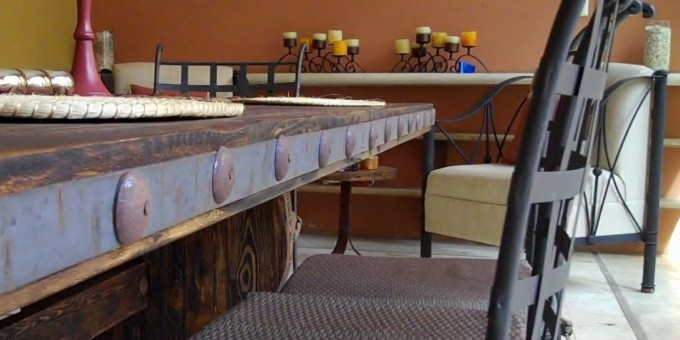 Mexican Artisan Furniture - Dining Table