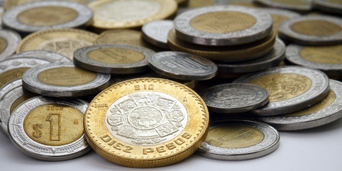 Mexican Coins Money Currency