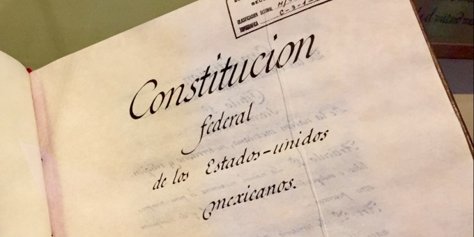 mexico s constitution mexperience