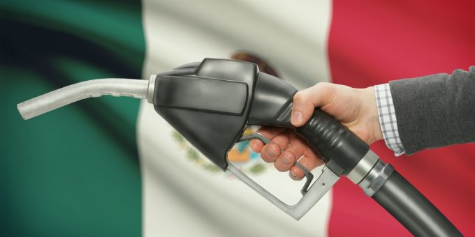 Mexican Gasoline Pump