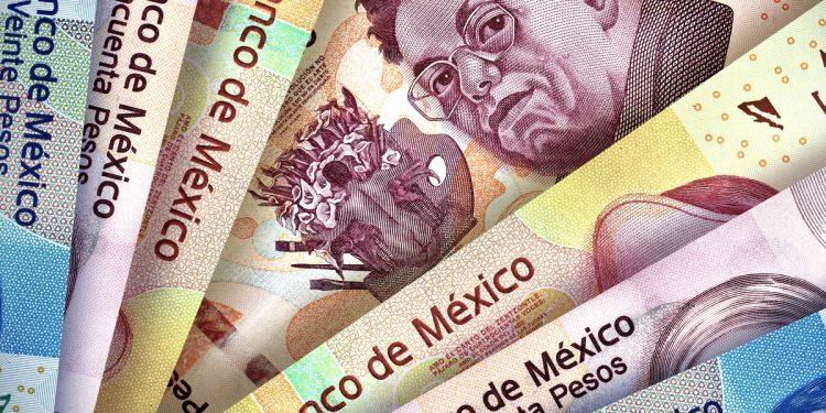 Mexican Pesos Montage