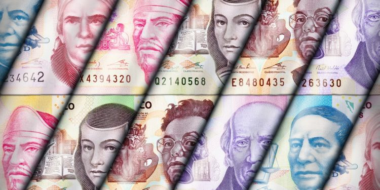 Mexico Mexican Money Currency Bank Notes Exchange Banks ATMs