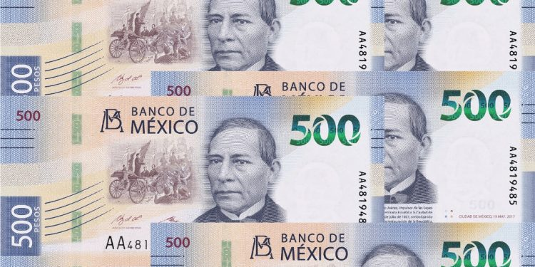 Mexico 500 Peso Bank Note Issued Aug 2018