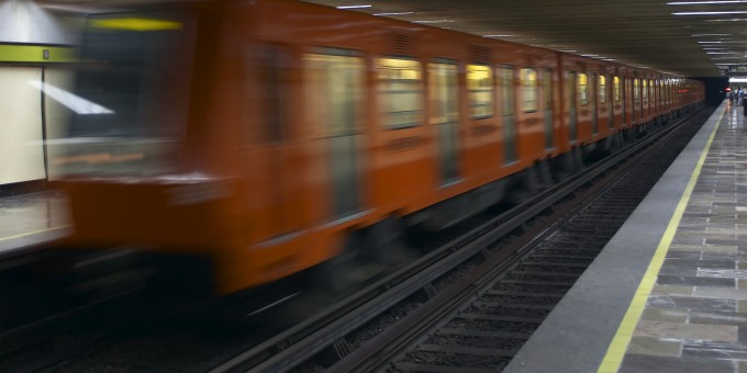 Mexico City's Metro Train