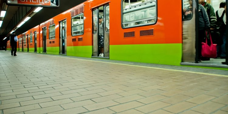 Mexico City Metro Train