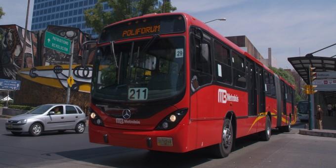Metrobus in Mexico City