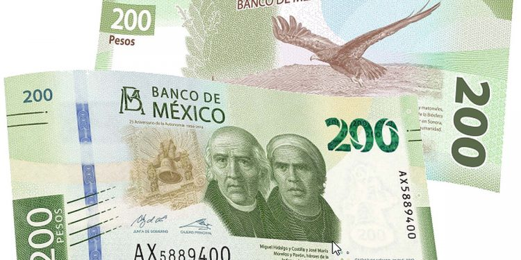 $200 peso banknote (2019)