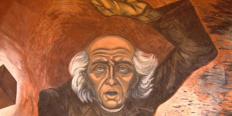 Mural of Miguel Hidalgo
