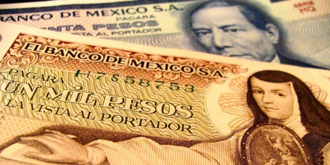 Old Mexican Bank Notes