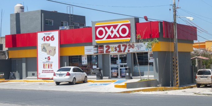 Oxxo Store in Mexico