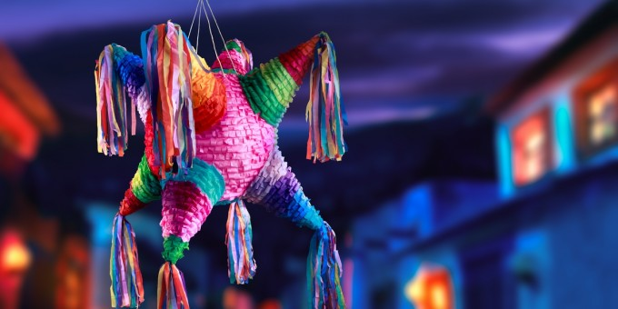 Piñata Parties in Mexico