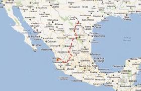 Eagle Pass to Puerto Vallarta
