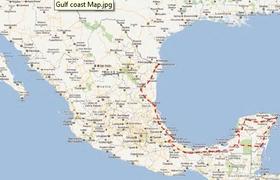 Matamoros to Yucatan